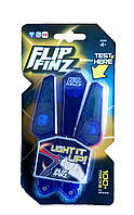 🔝 Светящийся нож бабочка, Flip Finz (Флип Финз), игрушечный - синий, с доставкой по Киеву и Украине   🎁%🚚