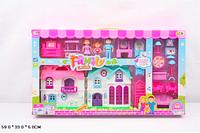 Кукольный дом 589-28 с куклами,мебелью батар.муз.свет