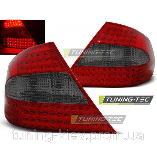 Задние фонари MERCEDES CLK W209 03-10 RED SMOKE LED