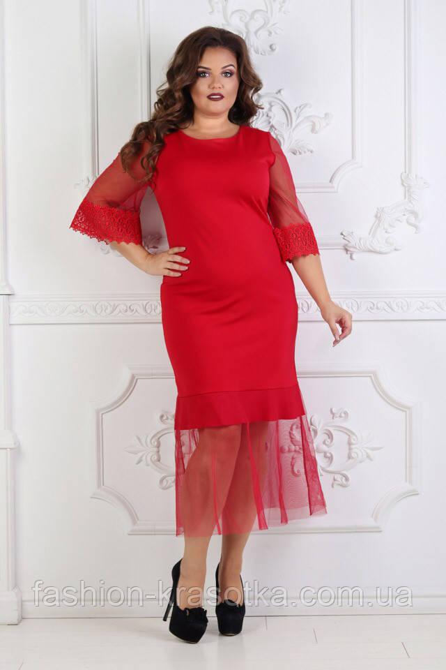 Вечернее шикарное платье в размерах 48 50 52 54