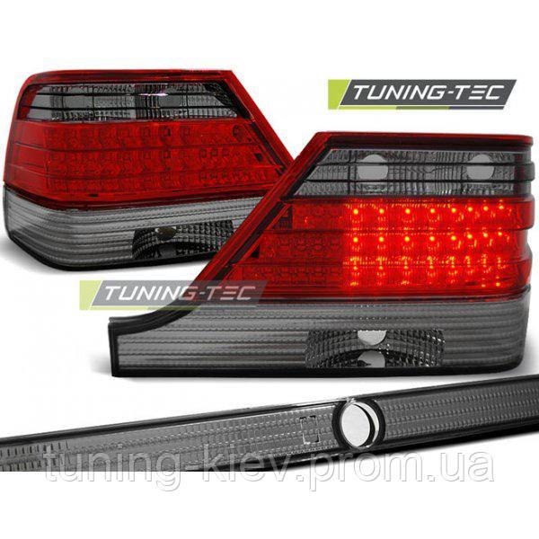 Задние фонари MERCEDES W140 95-10.98 RED SMOKE LED