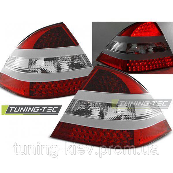 Задние фонари MERCEDES W220 S-KLASA 09.98-05.05 RED WHITE LED