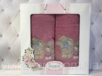 Подарочный набор, полотенце банное + для лица