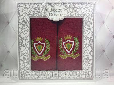 Sweet Drems Мужская серия. Подарочный набор в коробке,  полотенце банное + полотенце  для лица