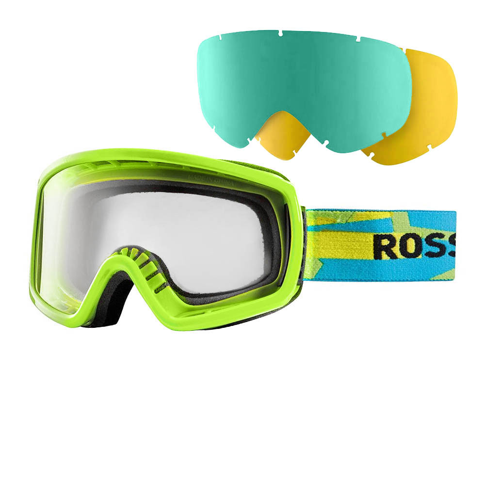 Маска Rossignol Radical+2Lens  green-blue