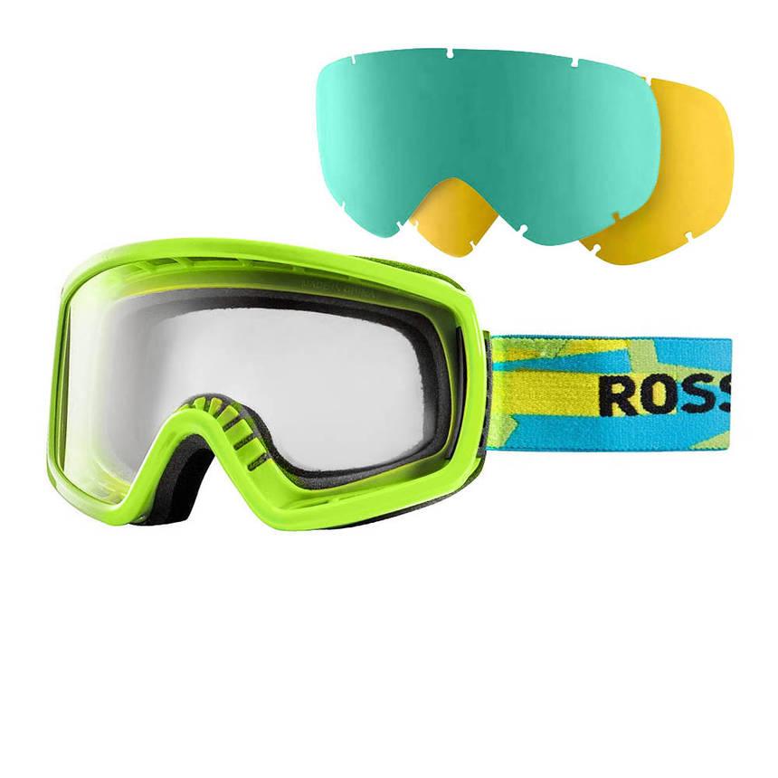 Маска Rossignol Radical+2Lens  green-blue, фото 2