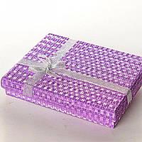 [16/12/3 см] Подарочная коробочка для украшений Блеск Ассорти большая прямоугольная 12 шт.