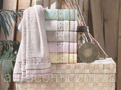 Набор, полотенца банные,Pupilla hercai Bamboo  70 х 140 см