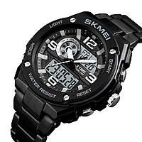 Мужские спортивные часы SKMEI 1333 черные, фото 1
