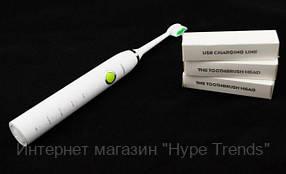 Электрическая зубная щетка Gemei GM-906 аккумуляторная. 4 режима. В Украине, в Одессе