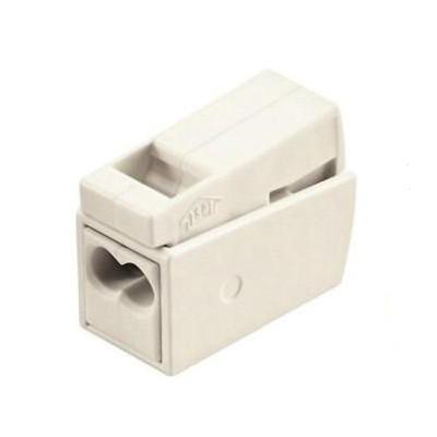 Клемма для подключения осветительных приборов, на 2 входных проводника 1,0-2.5 мм2 без пасты WAGO 224-112