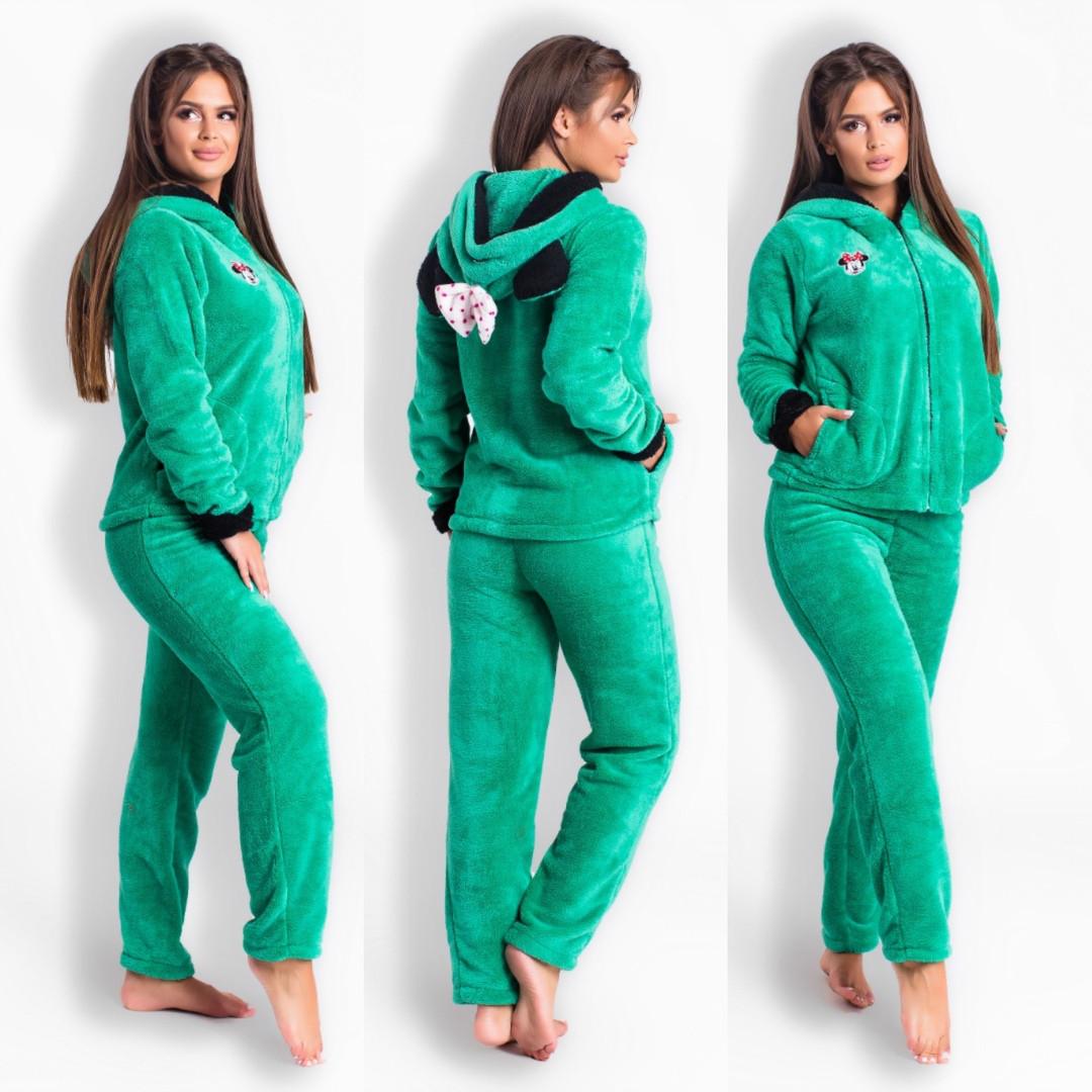 Домашний костюм пижамка ушками Минни мауса