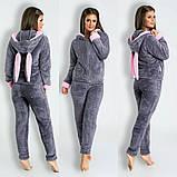 Домашний костюм пижамка ушками Минни мауса, фото 5