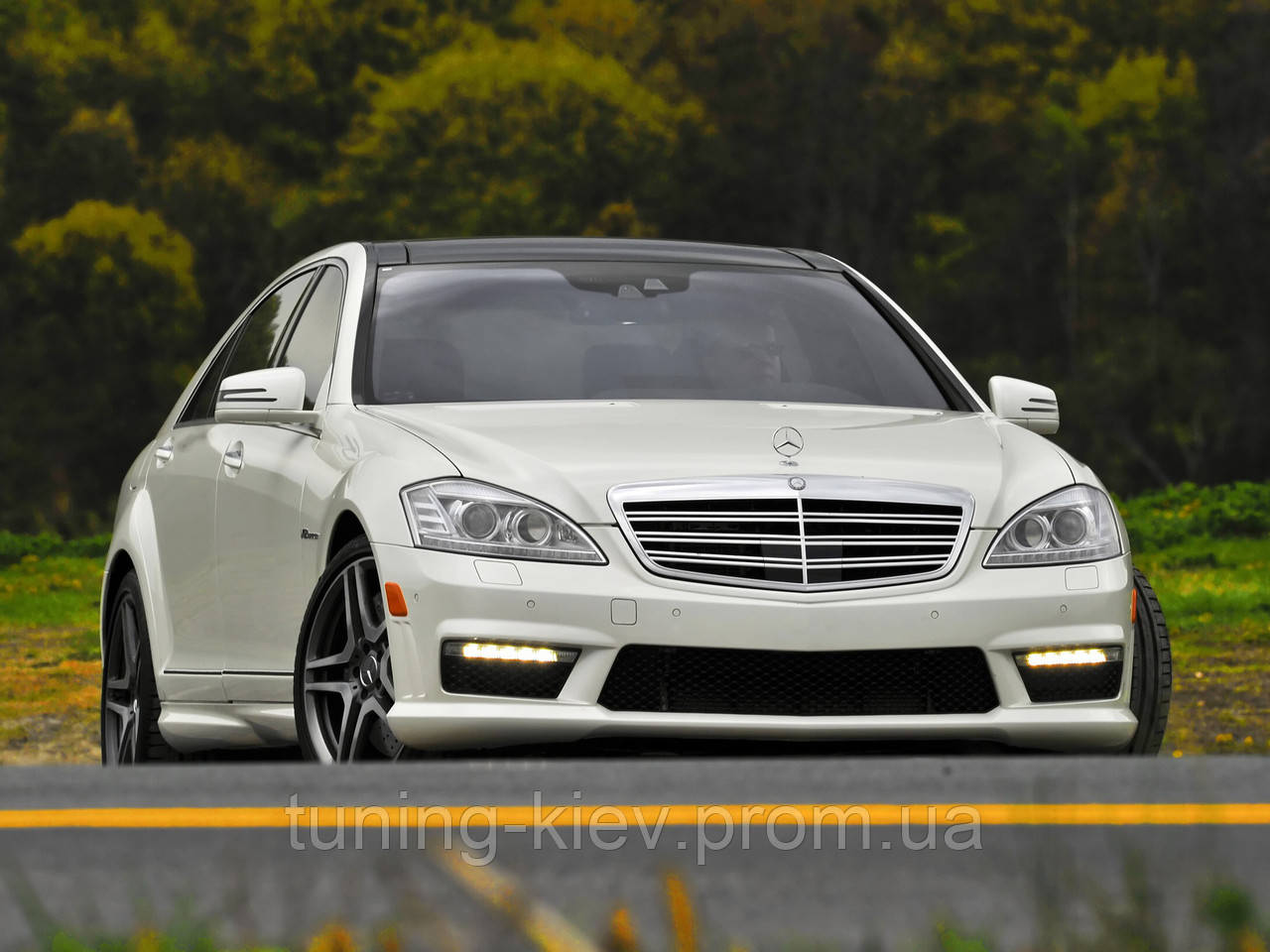 Обвес /Body-kit/ Mercedes S W221 копия AMG