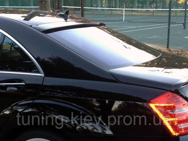Бленда (спойлер на стекло) Mercedes S W221