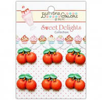 Декор Вишня Cherries Jubilee Buttons Galore SD106