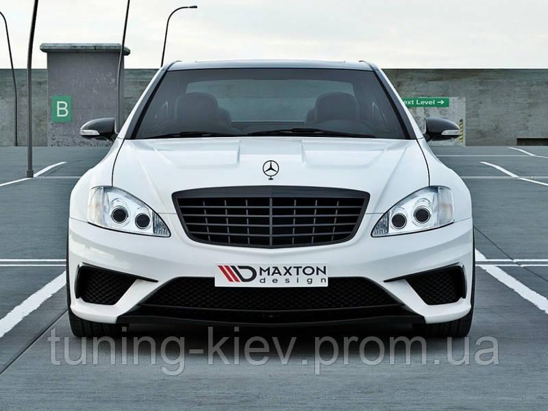 Комплект обвеса Wide Bodykit Mercedes S W221
