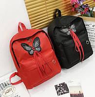 Милый тканевый рюкзак с бантиком шнуровкой Заказать новинку недорого Качественный принт Доступно Код: КГ5935, фото 1