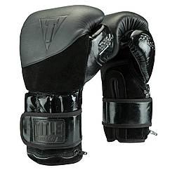 Снарядні рукавички з обважнювачем TITLE BLACK Blitz Weighted Gloves