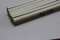 Пробковый компенсатор (порожек), 7мм, RG-106 Белый, фото 1