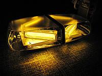 Световая панель LED - 806 светодиодная  желтая ( оранжевая )12-24V. , фото 1