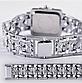Женские наручные часы с серебристым браслетом код 422, фото 2