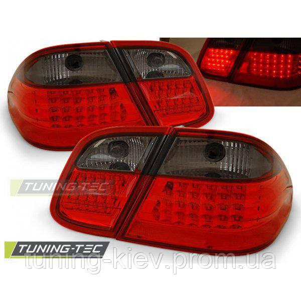 Задние фонари MERCEDES W208 CLK 03.97-04.02 RED SMOKE LED