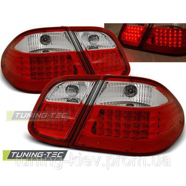Задние фонари MERCEDES W208 CLK 03.97-04.02 RED WHITE LED