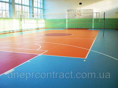 Спортивный линолеум Grabo Sport Венгрия 5 мм, фото 2