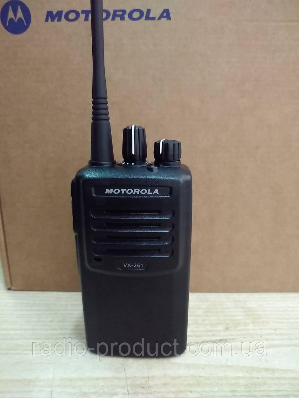 Motorola VX-261 VHF, + FNB-V134, профессиональная портативная радиостанция