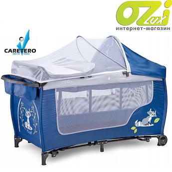 Детская кровать манеж Caretero Grande Plus