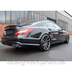 Спойлер крышки багажника Mercedes CLS W218 стиль AMG