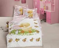 Постельное белье в кроватку для новорожденных деток,
