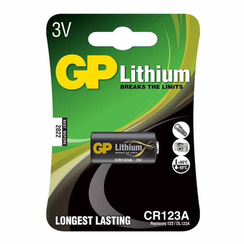 Батарейка GP CR 123A (1шт)