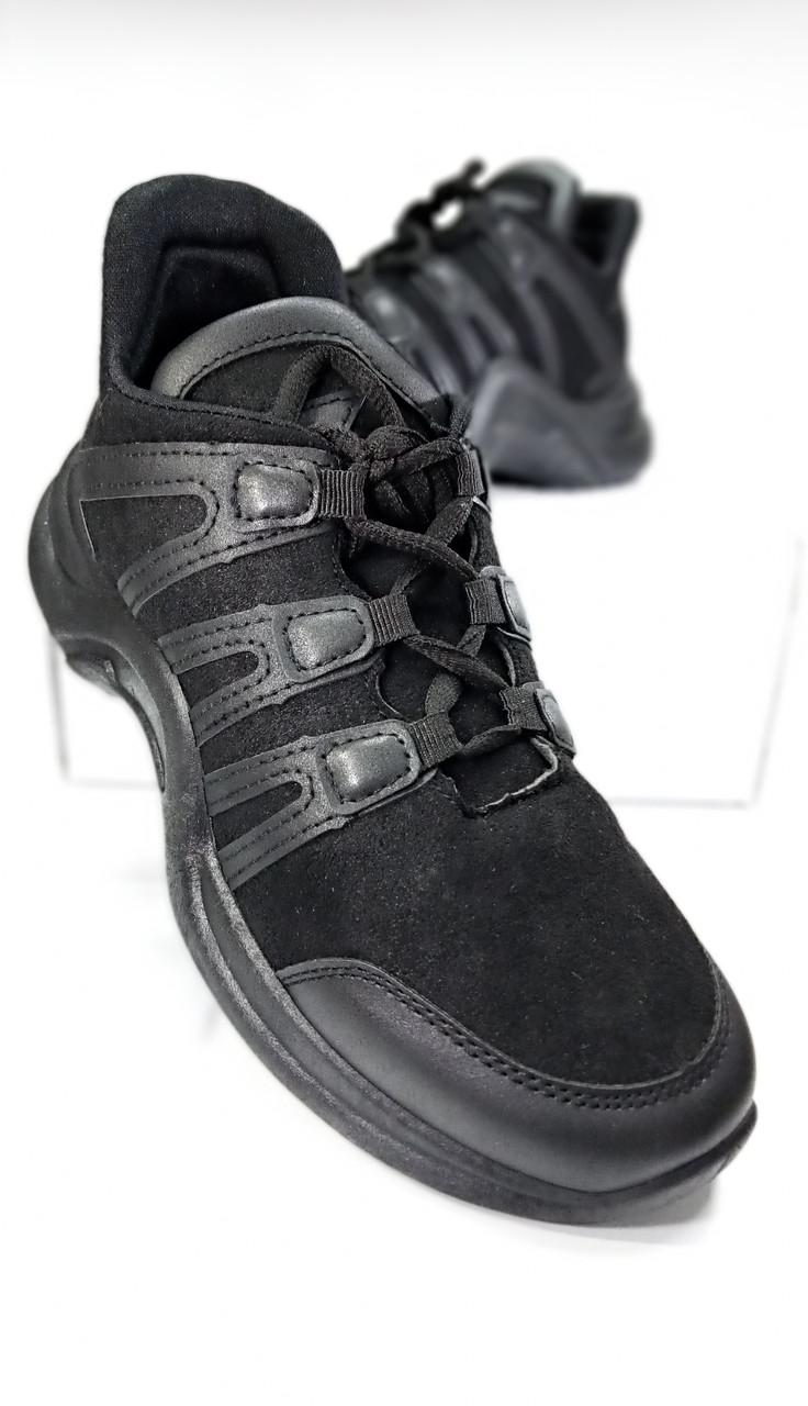 Женские кроссовки черного цвета gb-8002