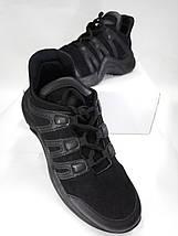 Женские кроссовки черного цвета gb-8002, фото 2