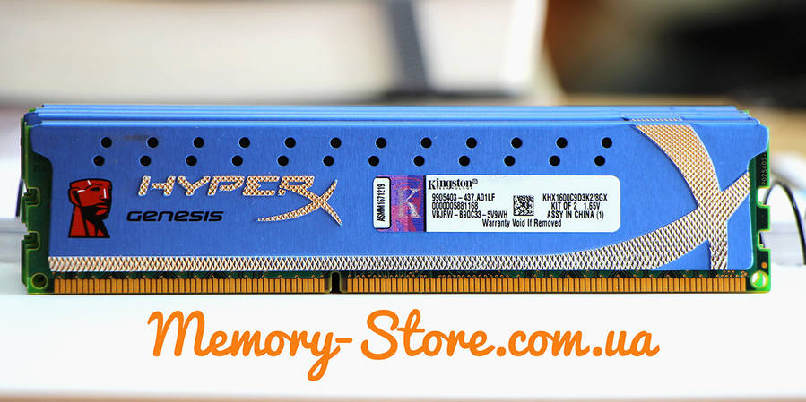 Оперативная память Kingston HyperX Genesis DDR3 DDR3 4Gb PC3-12800 1600MHz (б/у), фото 2
