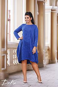 ДР1547  Платье свободного кроя (размеры 50-56)