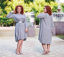 ДР1547  Платье свободного кроя (размеры 50-56), фото 3