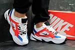 Кроссовки Nike М2K Tekno (бело/красные), фото 4