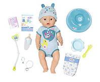 Кукла пупс Baby Born Беби Борн мальчик Нежные объятия очаровательный малыш Zapf Creation 824375