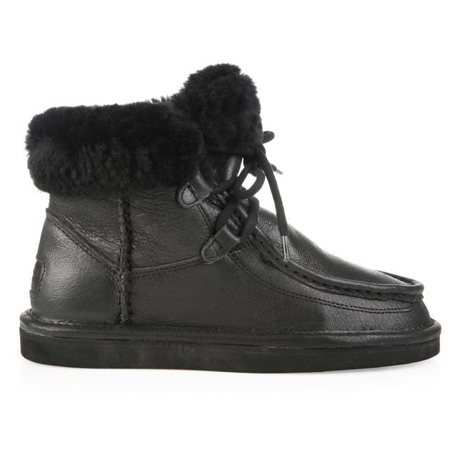 UGG Australia Cypress Black Leather