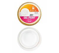 Гель-краска  Fox  Gel paint № 001