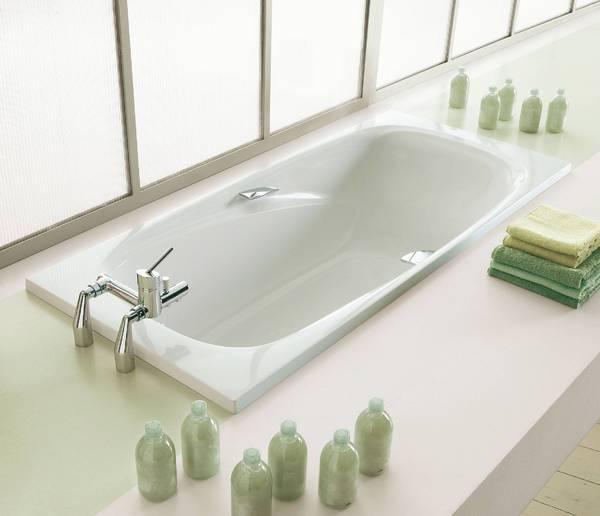 Ванна чугунная JACOB DELAFON REPOS (180х90 см.)