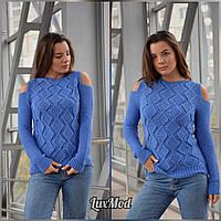 Женский свитер Анна, фиалка, фото 1