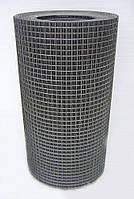 Сварная оцинкованная сетка для клеток 12,5*12,5*0,8 ширина 1м