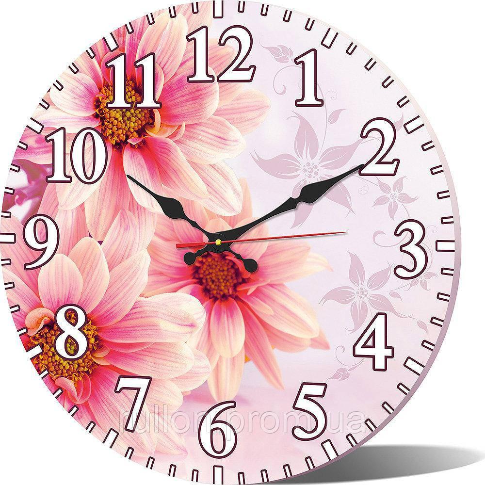 Часы настенные круглые YS-Art 33х33см (CL013)