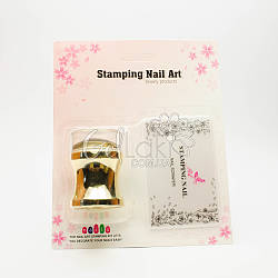 Набор для стемпинга Stamping Nail Art (штамп+скрапер)