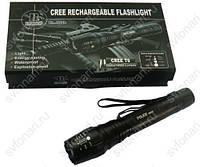 Аккумуляторный, сверхяркий фонарь BAILONG BL-8668 Cree T6 ZOOM (BL-777-T6), фото 1
