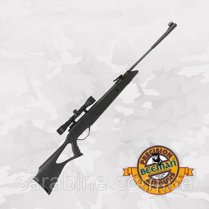Beeman Longhorn Gas Ram пневматическая винтовка с ПО 4Х32 и газовой пружиной
